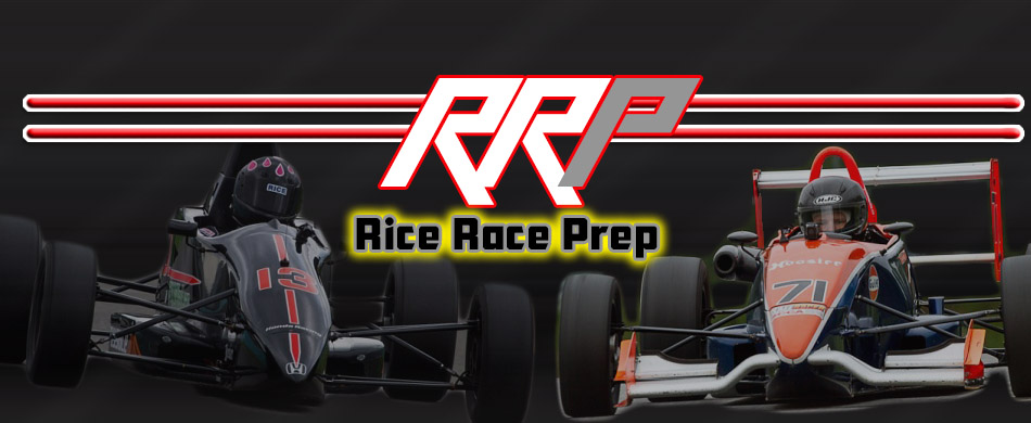 Welcome to the Rice Race Prep website!